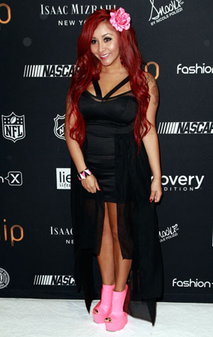 Snooki today (Marcel Thomas/FilmMagic)