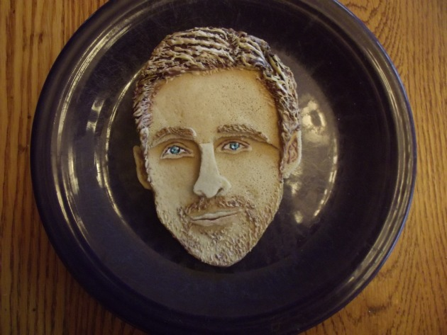 pancake portrait of Ryan Gosling exclusively for us Behold the result