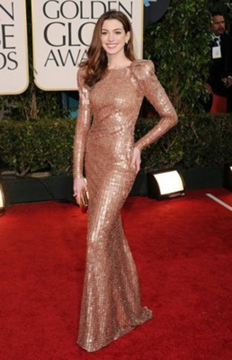 Anne Hathaway looked fab at every red carpet appearance in 2011.