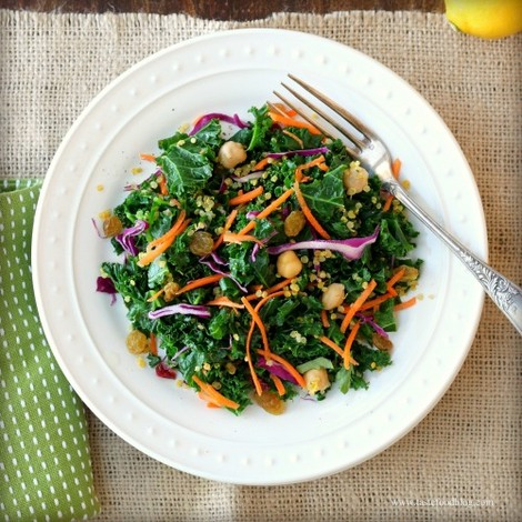 TasteFood | Kale and Quinoa Salad