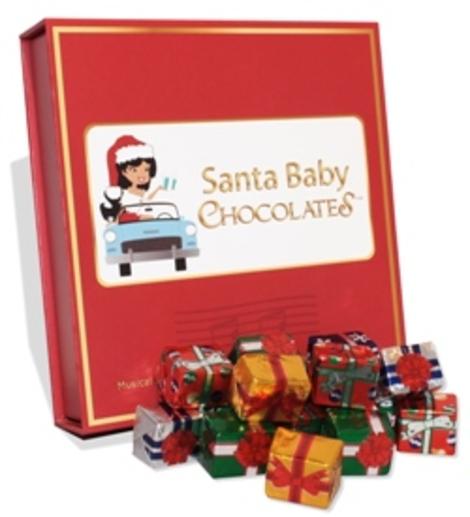 Santa Baby Chocolates