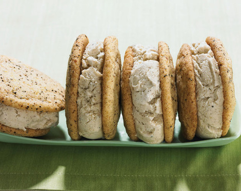 Cardamom Snickerdoodle Ice Cream Sandwiches