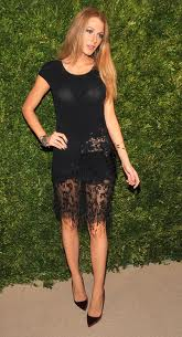 Blake Lively Black Lace Dress on Blake Lively Dress Jpg