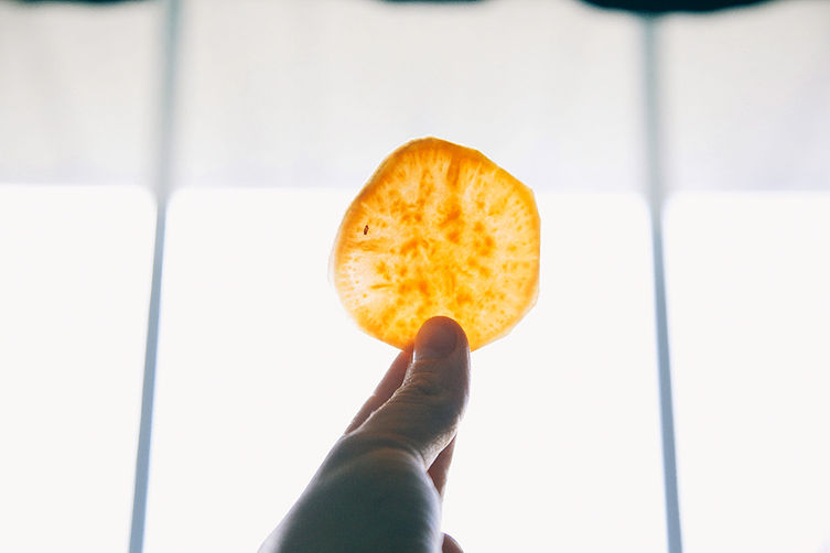 Sweet Potato Chips on Food52
