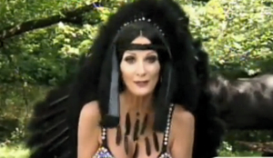 """The best part of Halloween is I get to be Cher."""