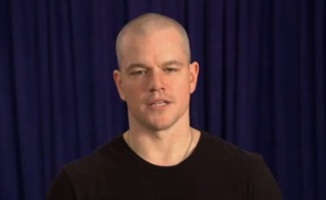 Matt Damon talks sh*t.