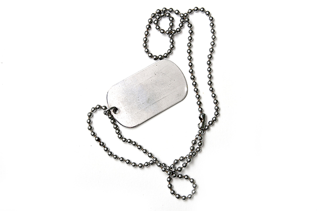File photo of a dog tag (Thinkstock)