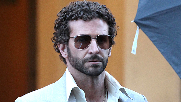 Bradley Cooper spotted on the 'American Hustle' set on April 3, 2013. Photo by FameFlynet.