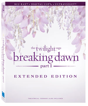 'The Twilight Saga: Breaking Dawn – Part 1′ Extended Edition includes eight extra minutes