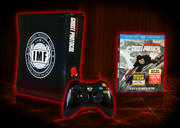 Yahoo! Movies Giveaway: 'Mission: Impossible – Ghost Protocol' XBox/Blu-ray Prize Pack