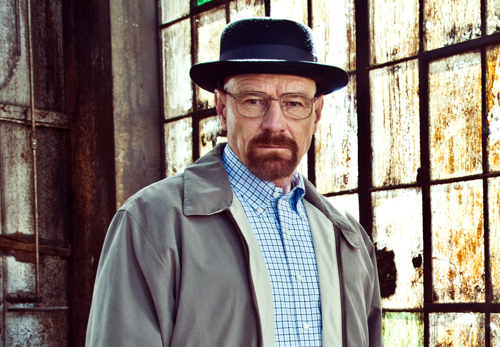 'Breaking Bad's' Bryan Cranston in his Heisenberg porkpie hat (AMC)