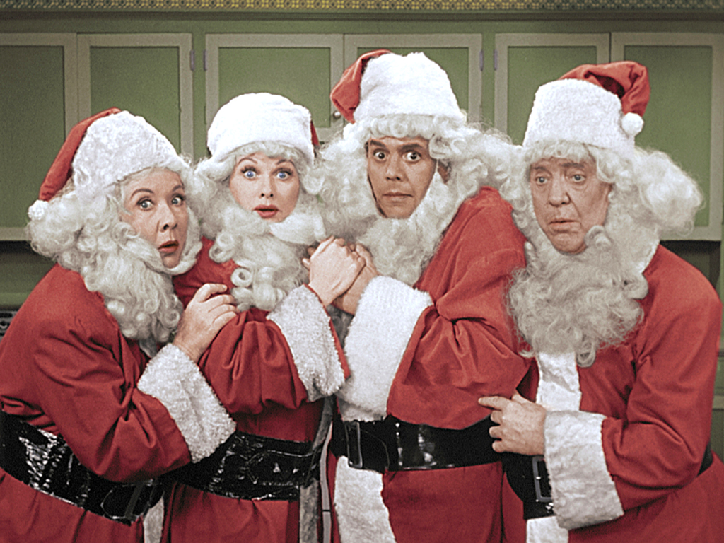 Colorized 'I Love Lucy' Christmas episode