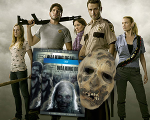 Yahoo! TV Giveaway: 'Walking Dead' Season 1 on Blu-ray With Zombie Mask