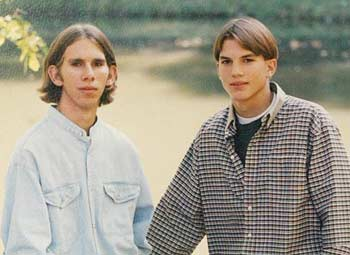 The Kutcher Twins, Michael and Ashton (Tom Vickers/Splash News)