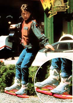 "Michael J. Fox in ""Back to the Future II"" (Universal/Everett Collection)"