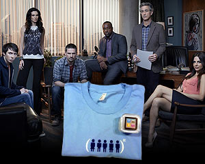 Yahoo! TV Giveaway: 8GB iPod Nano and 'Alphas' T-Shirt