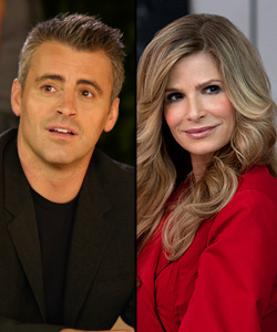 Matt LeBlanc and Kyra Sedgwick (Showtime/TNT)