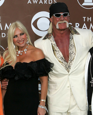 Linda and Hulk Hogan in February 2006 (Chris Carlson/AP)