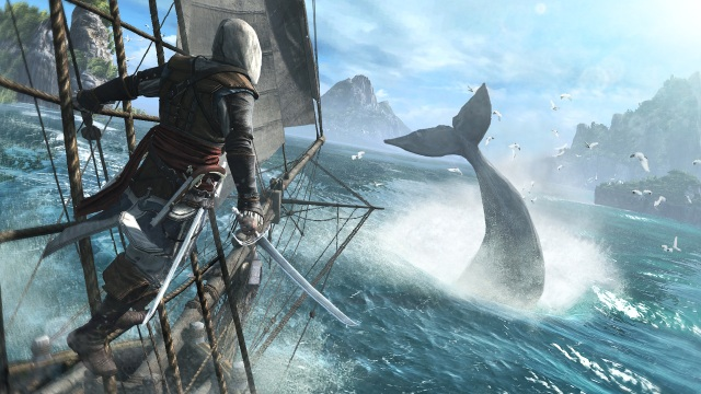 PETA slams new Assassin's Creed over whaling feature