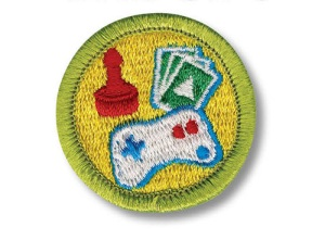 Boy Scout Game Design badge (Credit: Boy Scouts of America)