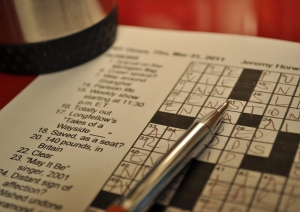 Crosswords (flickr user: lovelihood)
