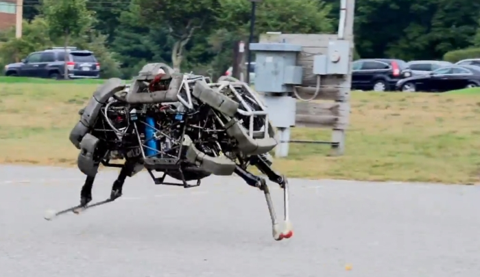 It's coming to get you (Credit: Boston Dynamics)
