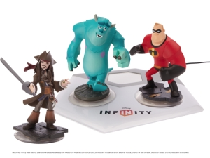 Disney Infinity figures (Credit: Disney Interactive)