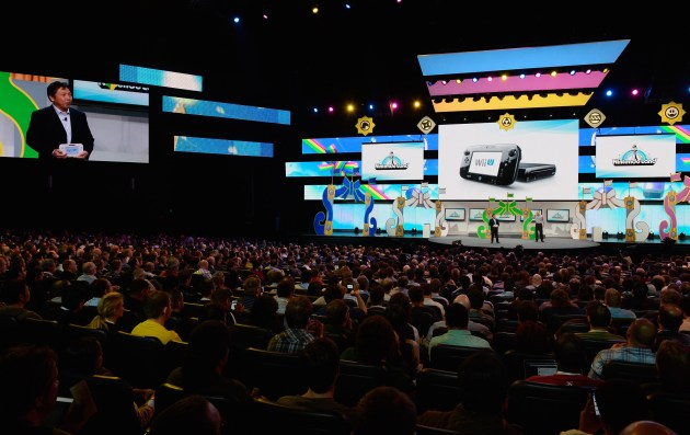 Nintendo at E3 2012 (Credit: Getty Images)