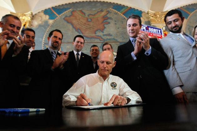 Florida governor Rick Scott (Credit: Getty Images)