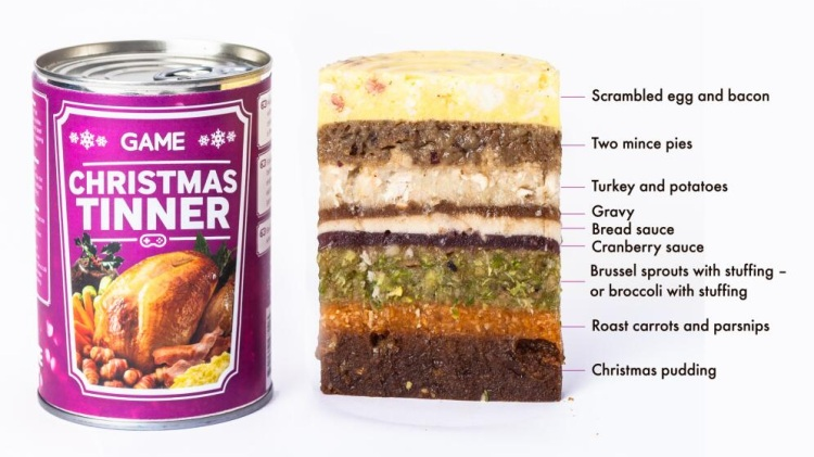 Christmas in a can (Credit: GAME)
