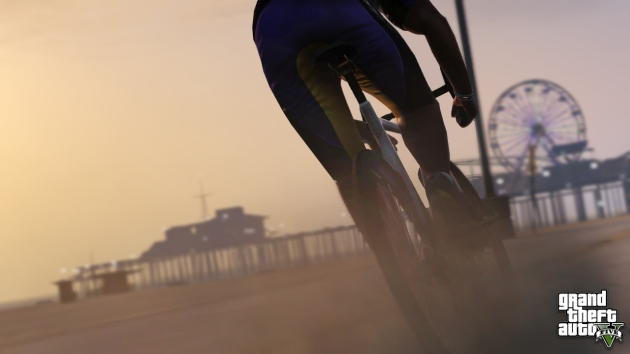 New Grand Theft Auto V screens show off travel, leisure