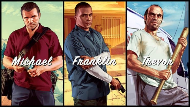 Grand Theft Auto V (Credit: Rockstar Games)