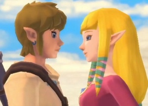 Poll Vault: Link and Zelda, sitting in a tree…