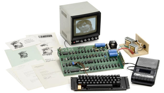 This Apple-1 is believed to be one of only a half dozen still functioning. (Credit: Auction Team Breker)