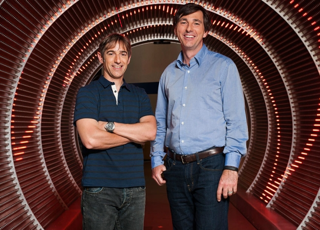 Don Mattrick and Mark Pincus (Credit: Zynga)