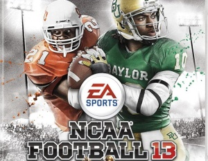 Barry Sanders scores 'NCAA Football 13′ cover