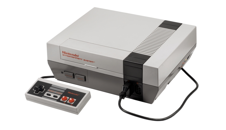 The oirginal NES (Credit: Nintendo)