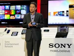 Sony's Kaz Hirai (Getty Images)