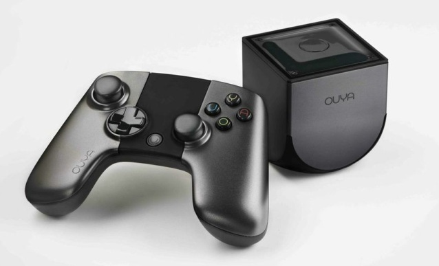 Ouya console and controller (Credit: Ouya)