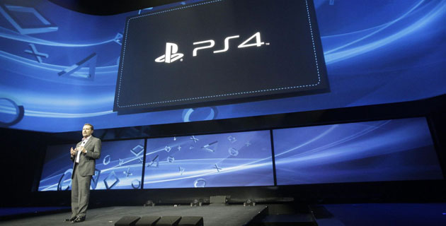 Sony's Andrew House introduces PlayStation 4 (Credit: PRNewsFoto/Sony Computer Entertainment Inc.)
