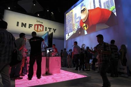 Disney Infinity exhibit at E3 in Los Angeles, California, June 11, 2013. (Credit: Reuters/David McNew)
