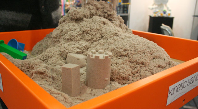 No-mess sand promises all the fun but with none of the cleanup