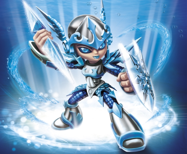 Freeze foes as this brand new Skylander