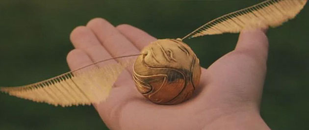 With this snitch I thee wed. (Warner Bros.)