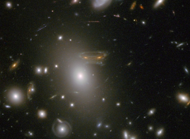 "Hubble spies with its little eye, something that starts with ""S."" (Credit: NASA)"