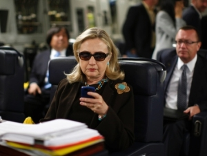 Hillary's famous texts (Credit: Reuters/Texts from Hillary)