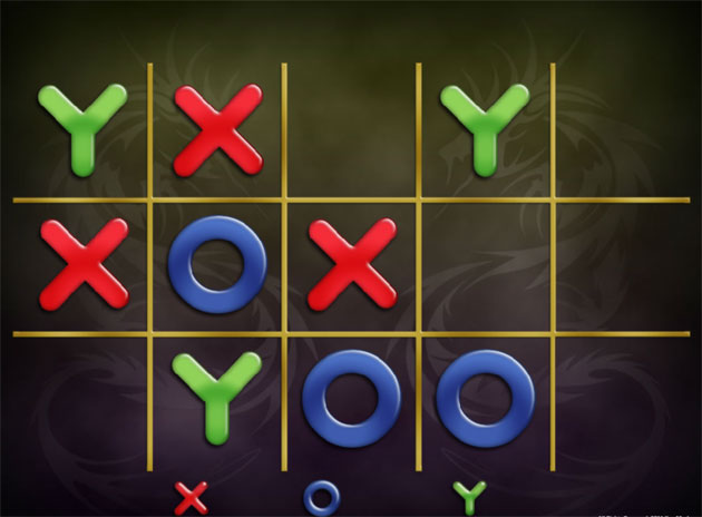 Three-way twist on Tic Tac Toe touches down on App Store