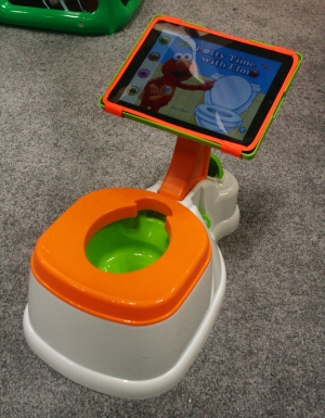 iPad potty (Credit: CTA Digital)