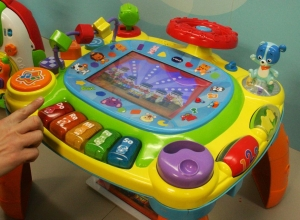 iDiscover App Activity Table (Credit: VTech)