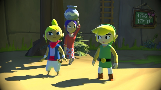 The Legend of Zelda: The Wind Waker Wii U (Credit: Nintendo)